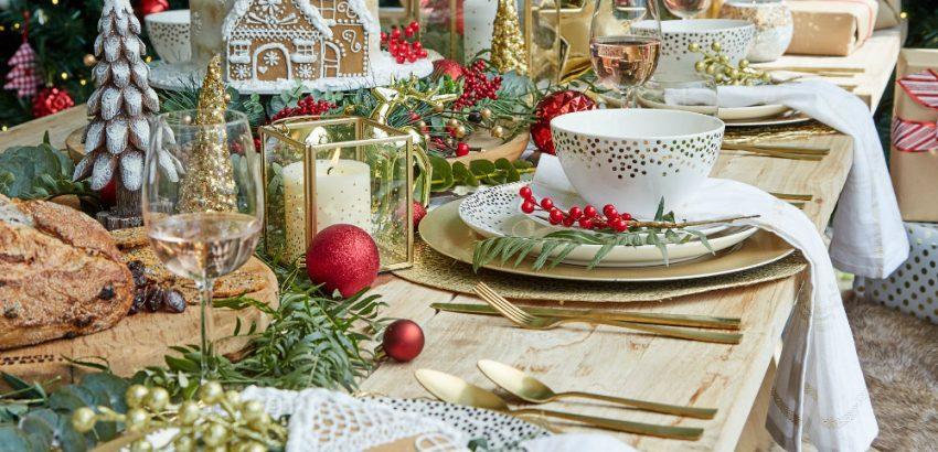 Christmas Table Setting Luxxu