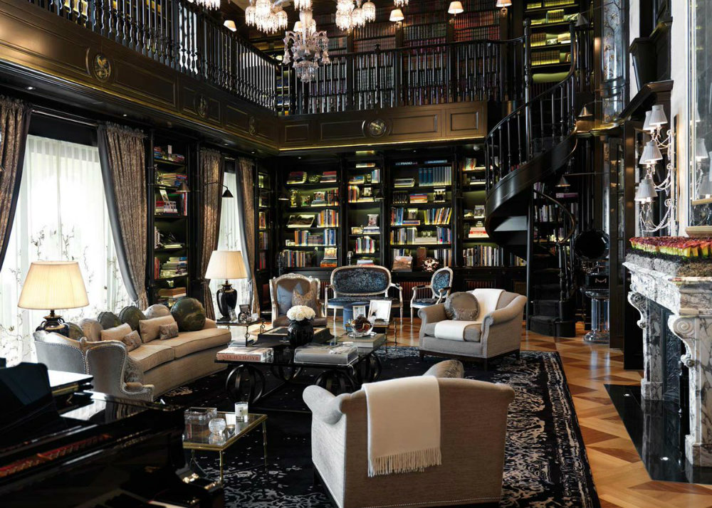 6 Ideas For A Luxury Home Library 04 luxury home library 6 Ideas For A Luxury Home Library 6 Ideas For A Luxury Home Library 04