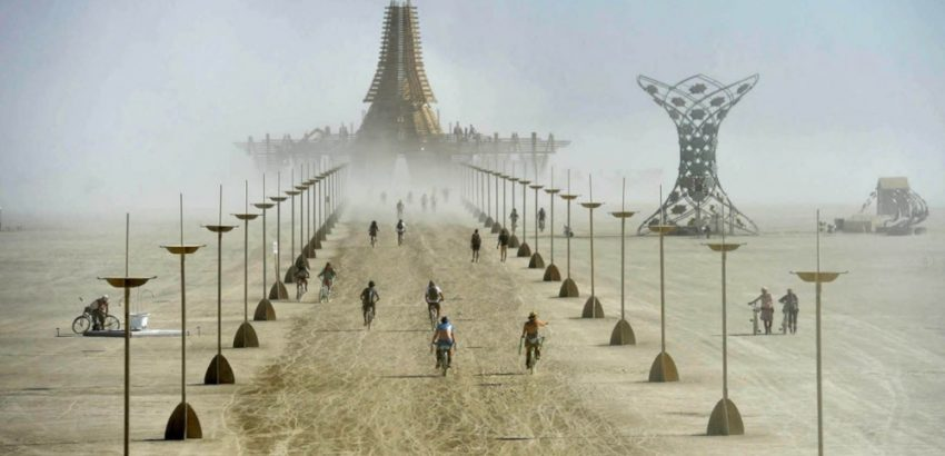 5 Of The Most Exclusive Music Festivals In The World most exclusive music festivals in the world Discover The Most Exclusive Music Festivals In The World Burning man 850x410