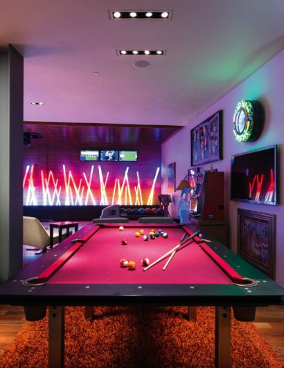 Luxury Game Room Design Ideas You'll Love 03 luxury game room design ideas Luxury Game Room Design Ideas You'll Love Luxury Game Room Design Ideas Youll Love 03 410x532