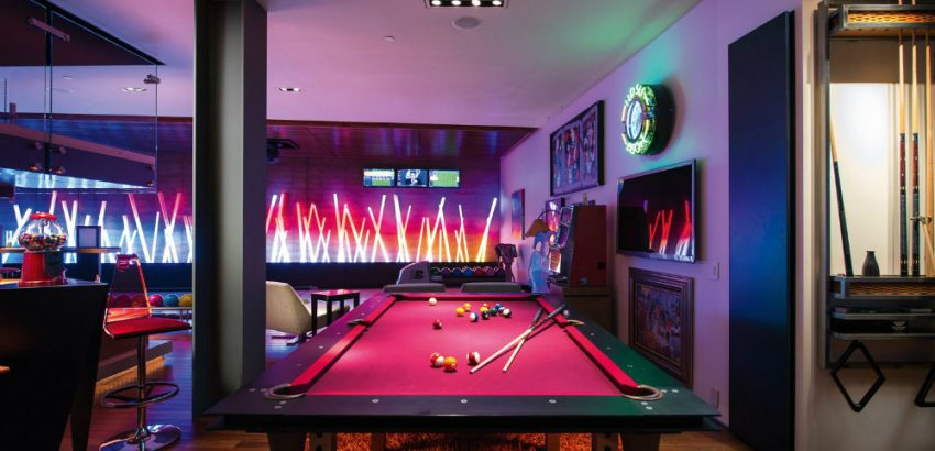Luxury Game Room Design Ideas You'll Love 03 luxury game room design ideas Luxury Game Room Design Ideas You'll Love Luxury Game Room Design Ideas Youll Love 03 850x410