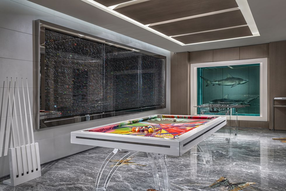 The World's Most Expensive Hotel Suite  the world's most expensive hotel suite The World's Most Expensive Hotel Suite game room