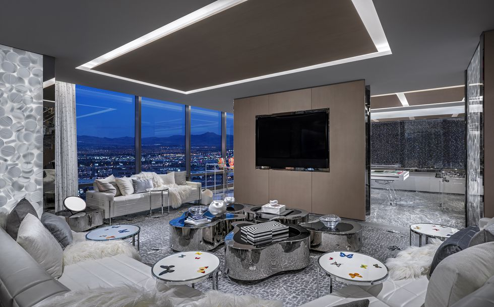 The World's Most Expensive Hotel Suite  the world's most expensive hotel suite The World's Most Expensive Hotel Suite media lounge