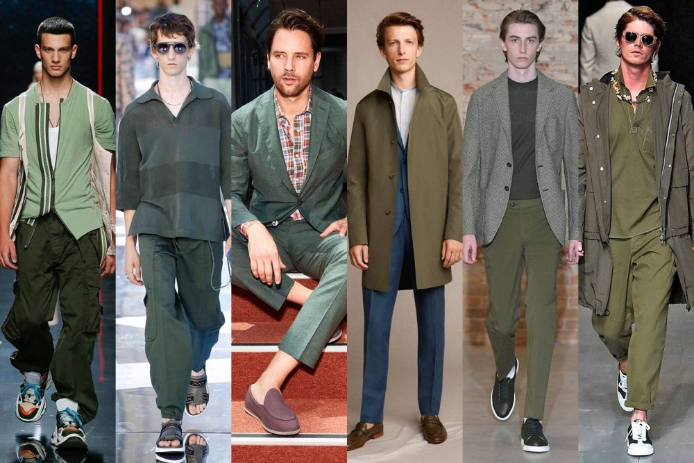 Men's Fashion Trends for Summer 2019 men's fashion trends for summer 2019 The Best Men's Fashion Trends For Summer 2019 sage green comp gq 28jun18 b e1558541662812