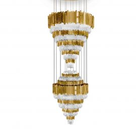 dramatic chandeliers Dramatic Chandeliers in Restaurants Across the World empire xl chandelier 01 270x270
