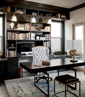Home Office Decor Ideas How To Design A Workspace At Home,Sage Green Olive Green Green Exterior House Paint Colors
