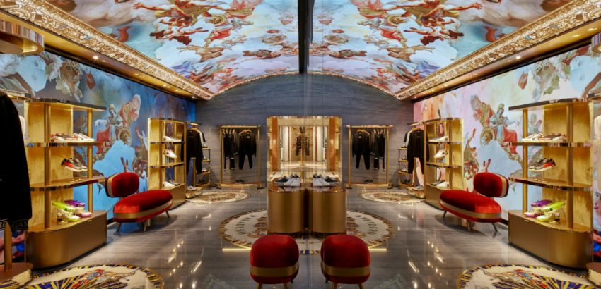 Peek Inside Dolce & Gabbana's New Rome Store 01 dolce & gabbana's new rome store Peek Inside Dolce & Gabbana's New Rome Store Peek Inside Dolce Gabbanas New Rome Store 01 850x410