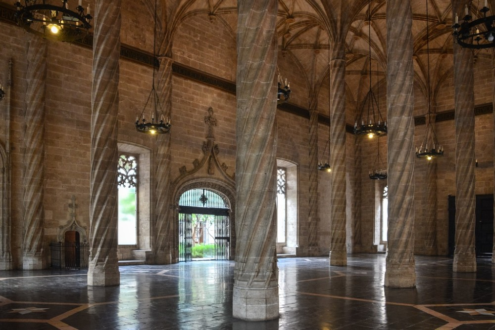 The Best Places To Visit In Valencia La Lonja de la Seda the best places to visit in valencia The Best Places To Visit In Valencia The Best Places To Visit In Valencia La Lonja de la Seda