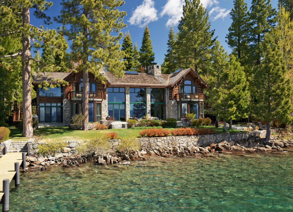 Celebrity Homes : Instagram's Founder Lake Tahoe Retreat