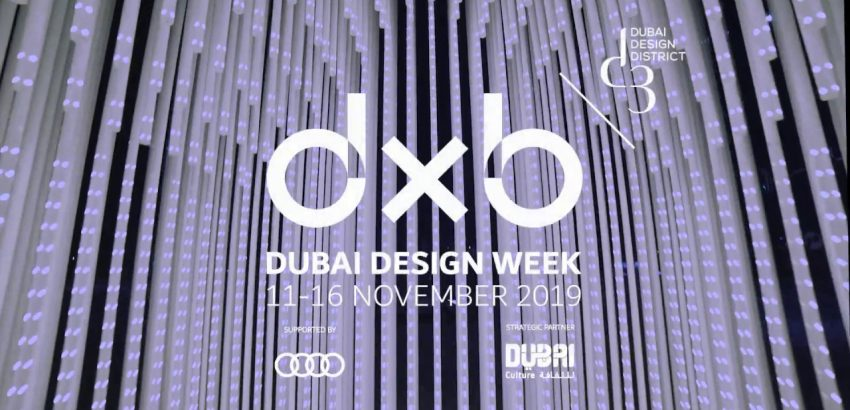 Dubai Design Week dubai design week Dubai Design Week: The largest festival in the Middle East Dubai Design Week 850x410