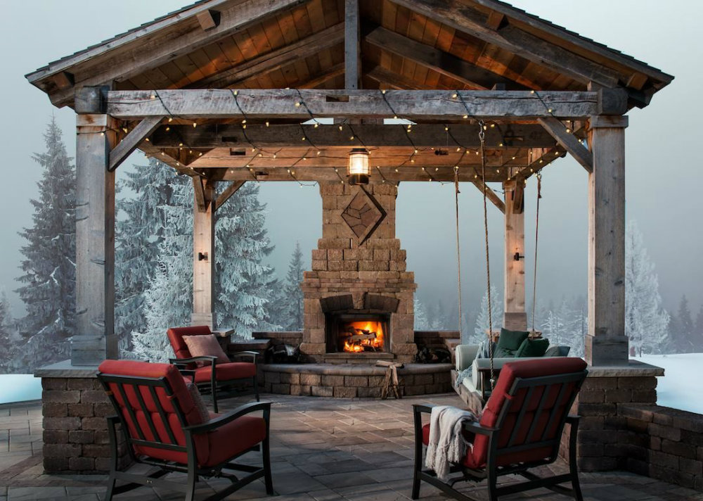 Outdoor Fireplace Design Ideas outdoor spaces design ideas Outdoor Spaces Design Ideas For A Great Summer Outdoor Fireplace Design Ideas 02 outdoor spaces design ideas Outdoor Spaces Design Ideas For A Great Summer Outdoor Fireplace Design Ideas 02
