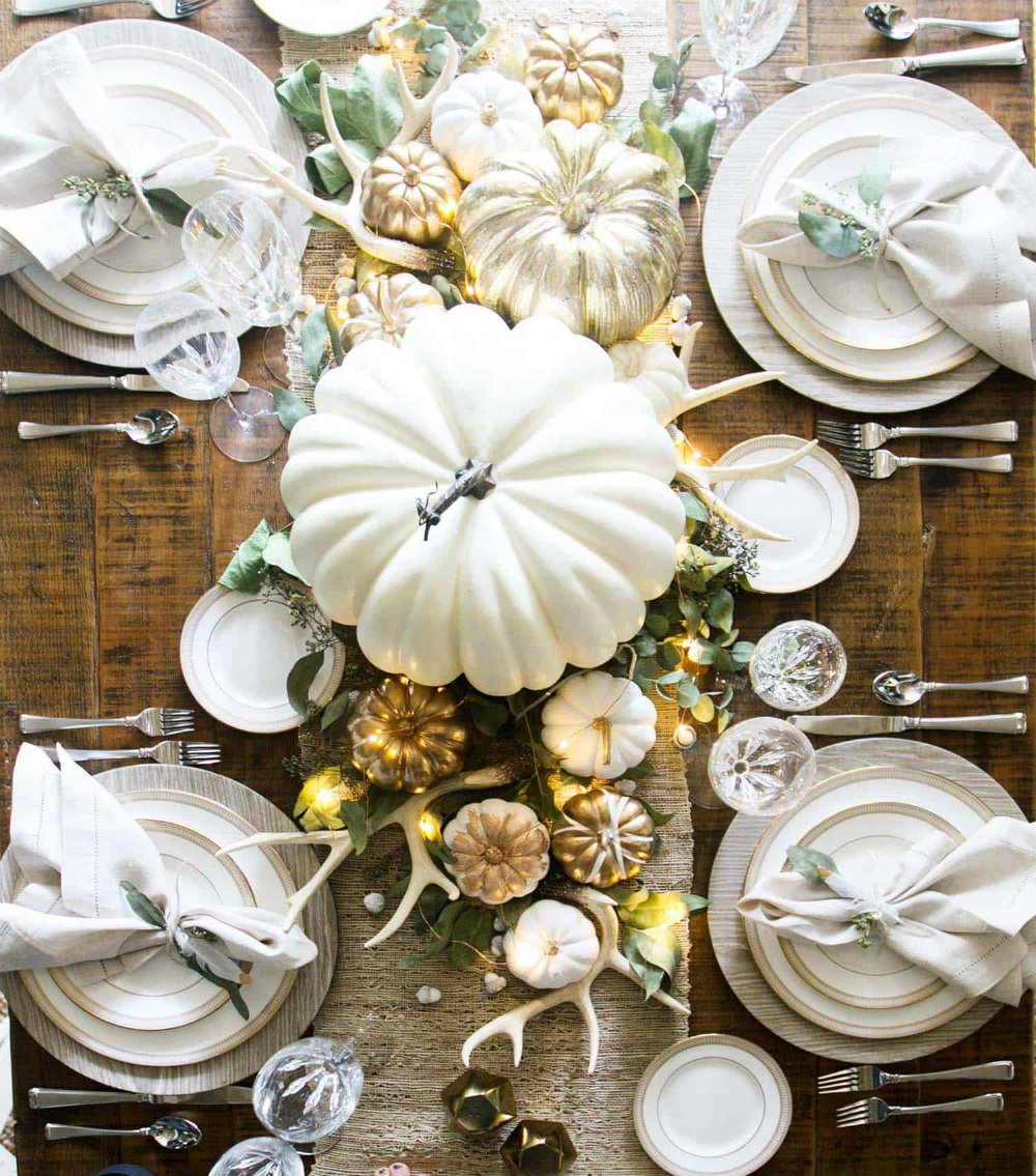 Thanksgiving Décor Ideas For An Elegant Evening