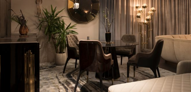 Dining Room Ideas Boost Your Modern Design With Dazzling Upholsteries