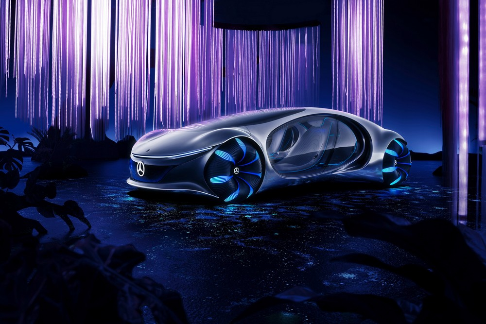 mercedes-benz Mercedes-Benz Introduces New Concept Car Inspired by the Avatar Film Mercedes Benz Introduces New Concept Car Inspired by the Avatar Film 5
