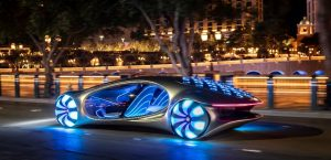 Mercedes-Benz Introduces New Concept Car Inspired by the Avatar Film