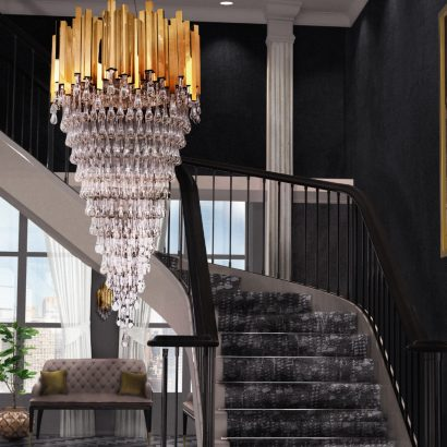 entryway lighting ideas 22 Outrageously Stunning Entryway Lighting Ideas featured 410x410