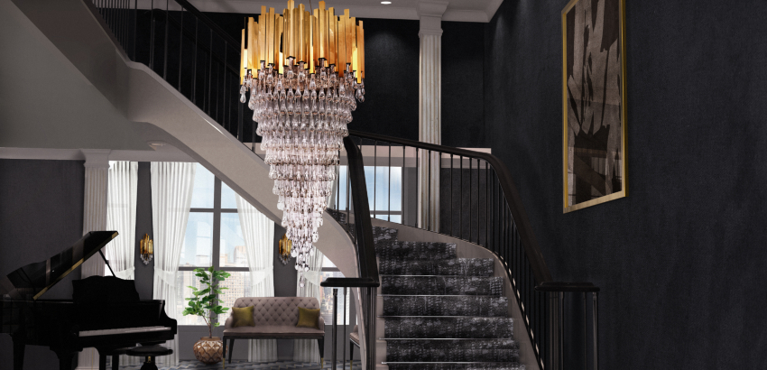 22 Outrageously Stunning Entryway Lighting Ideas luxury decoration ideas Luxury Decoration Ideas That Are Already Trending for 2017 featured luxury decoration ideas Luxury Decoration Ideas That Are Already Trending for 2017 featured