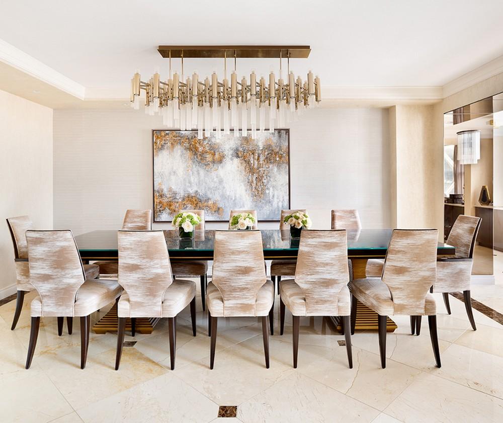 13 Dazzling Interior Designs that Highlight Statement Chandeliers 10