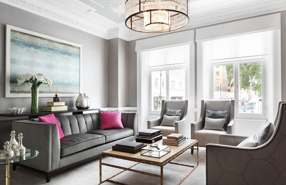 13 Dazzling Interior Designs that Highlight Statement Chandeliers 8