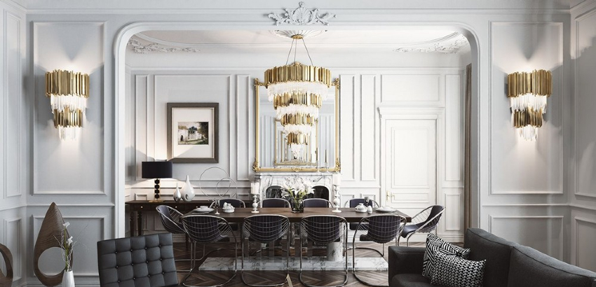 13 Dazzling Interior Designs that Highlight Statement Chandeliers