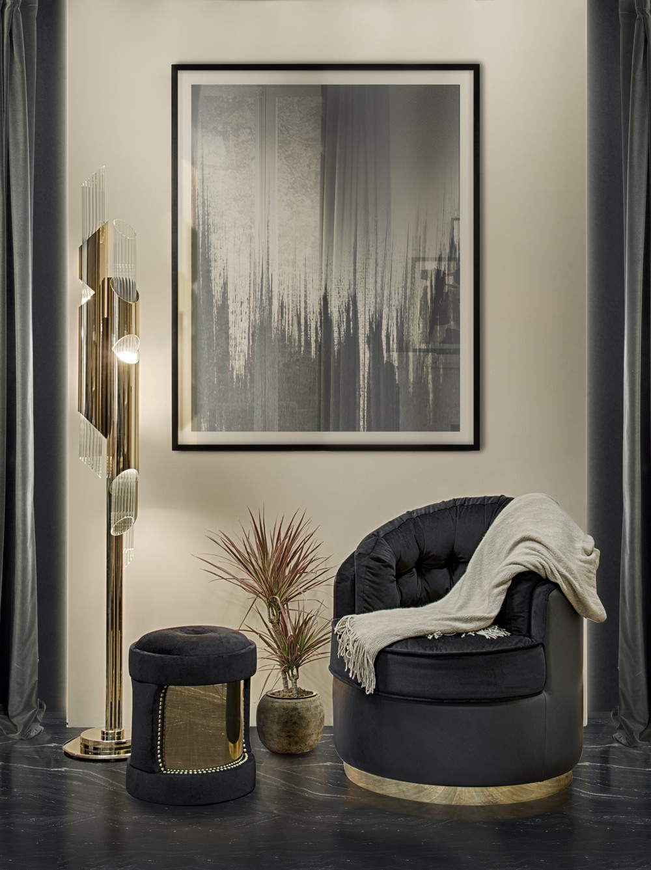 Home Decoration Black Gold Trend