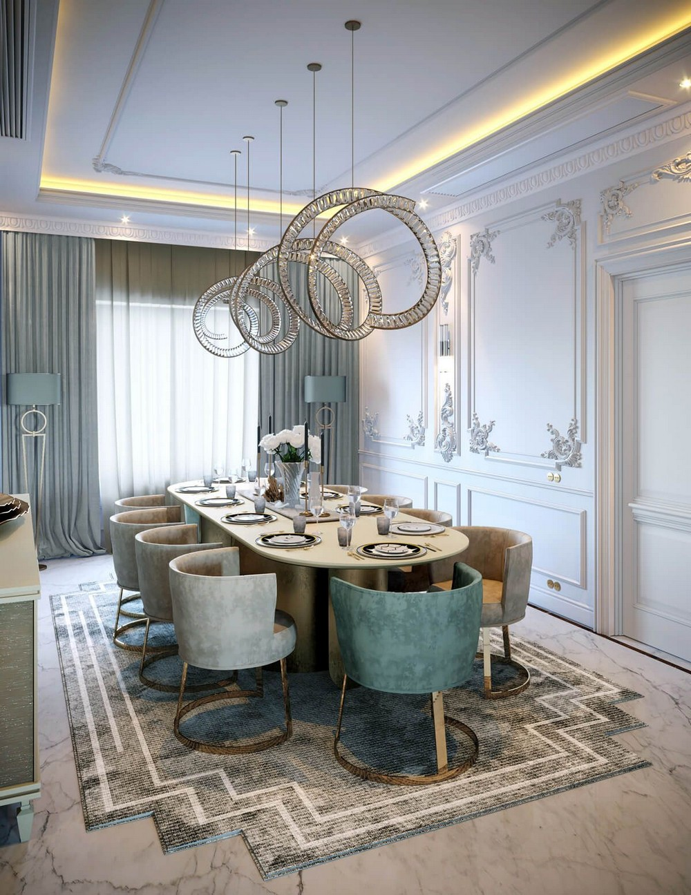 interior design projects Interior Design Projects: Neoclassical Palace in Riyadh by Comelite Architecture Interior Design Projects Neoclassical Palace in Riyadh by Comelite Architecture 13