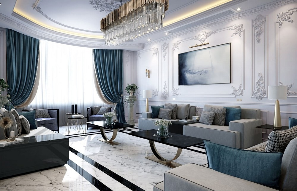 interior design projects Interior Design Projects: Neoclassical Palace in Riyadh by Comelite Architecture Interior Design Projects Neoclassical Palace in Riyadh by Comelite Architecture 2 4