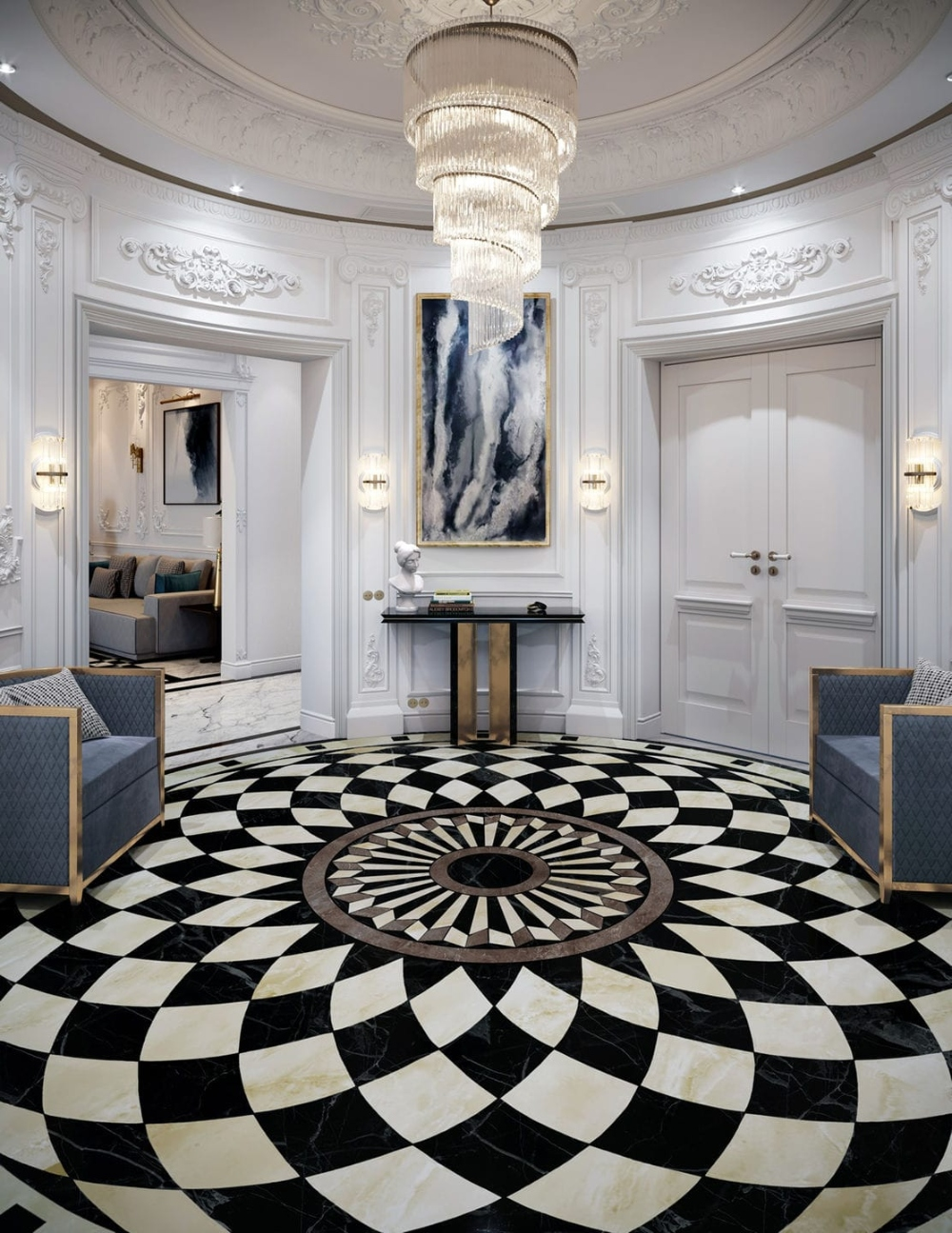 Interior Design Projects Neoclassical Palace in Riyadh by Comelite Architecture 2 (7) interior design projects Interior Design Projects: Neoclassical Palace in Riyadh by Comelite Architecture Interior Design Projects Neoclassical Palace in Riyadh by Comelite Architecture 2 7