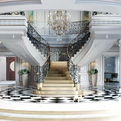 interior design projects Interior Design Projects: Neoclassical Palace in Riyadh by Comelite Architecture Interior Design Projects  Neoclassical Palace by Comelite Architecture featured 410x410