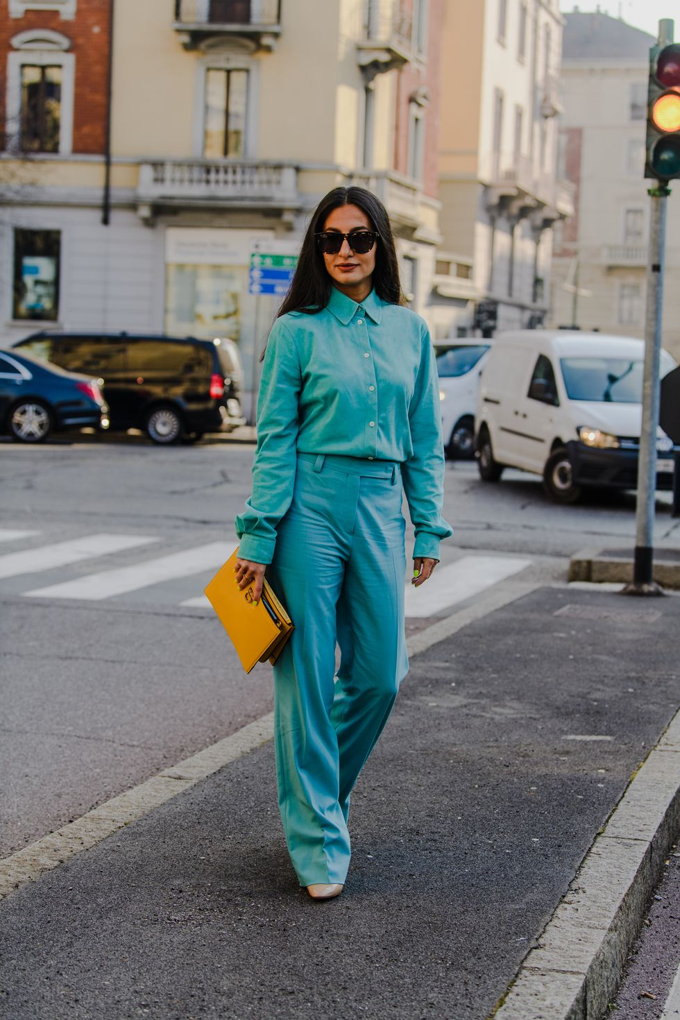 Milan Fashion Week 2020 milan fashion week 2020 The Street Style Trends From Milan Fashion Week 2020 fw20 mfw milan street style tyler joe day 4 024 1582486405