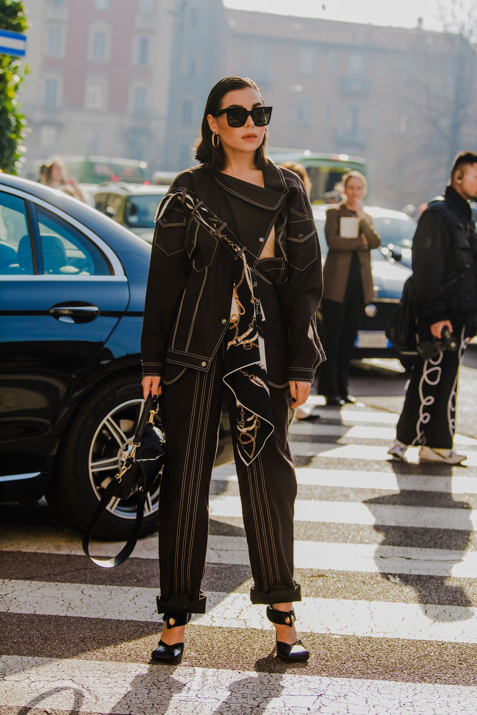 Milan Fashion Week 2020 milan fashion week 2020 The Street Style Trends From Milan Fashion Week 2020 fw20 mfw milan street style tyler joe day 4 025 1582486406