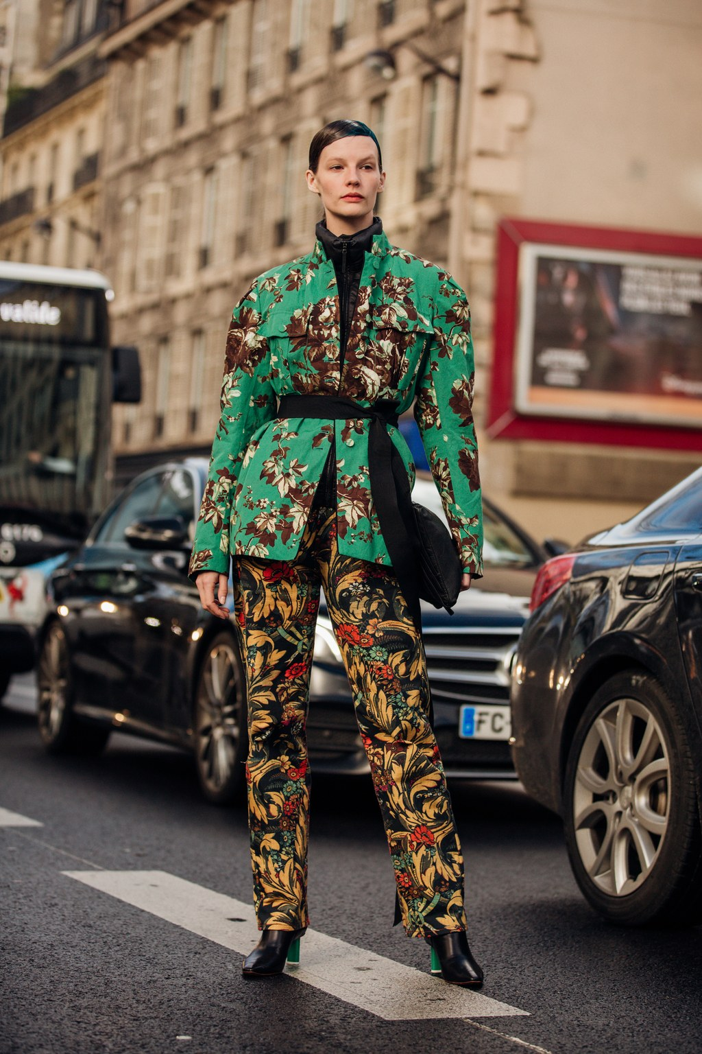 Street Style Tips From Paris Fashion Week 2020 paris fashion week 2020 Street Style Tips From Paris Fashion Week 2020 00005PARIS DAY2 Vogueint 26feb20 credit Jonathan Daniel Pryce 038