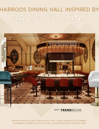 Harrod's Dining Hall: Inspiration from David Collins david collins Harrod's Dining Hall: Inspiration from David Collins DAVID COLLINS 410x532