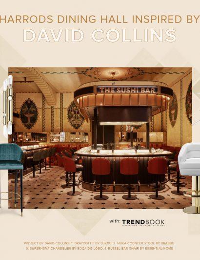Harrod's Dining Hall: Inspiration from David Collins david collins Harrod's Dining Hall: Inspiration from David Collins DAVID COLLINS 410x532