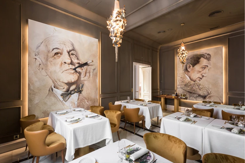La Casa de Manolet Bistró: a Palace Restaurant in Spain luxury dining room Luxury Dining Room Ideas for New Years Eve You Don't Want to Miss La Casa de Manolete Bistr  02 luxury dining room Luxury Dining Room Ideas for New Years Eve You Don't Want to Miss La Casa de Manolete Bistr C3 B302