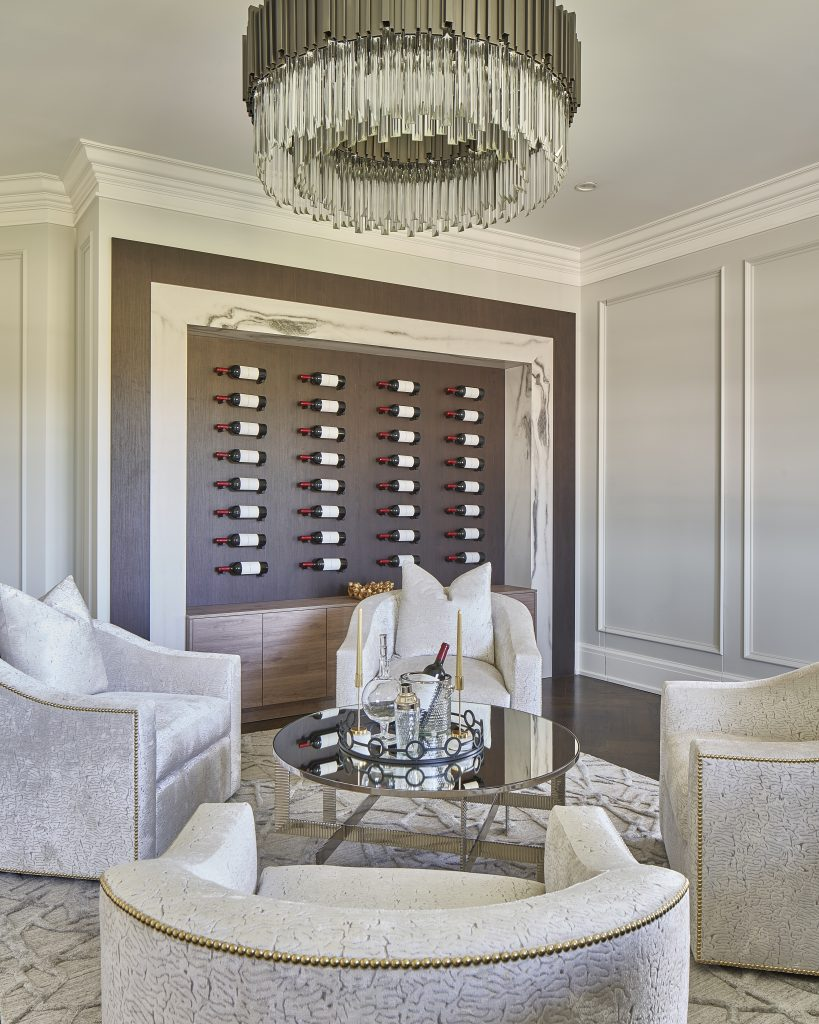 Be Inspired by This Stunning Wine Room by House of Style & Design wine room Be Inspired by This Stunning Wine Room YG 2632 819x1024