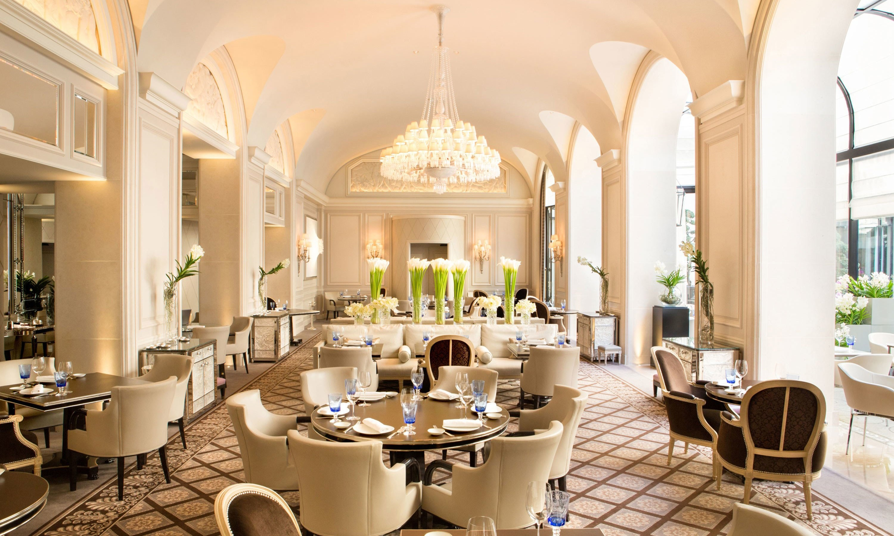 Pierre-Yves Rochon: A Leader in Hospitality Design pierre-yves rochon Pierre-Yves Rochon: A Leader in Hospitality Design four seasons hotel george v paris le george restaurant city directory