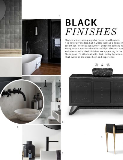 Bathroom Trends: Black Finishes bathroom trend Bathroom Trends: Black Finishes moodboard trends maison valentina black finishes 410x532