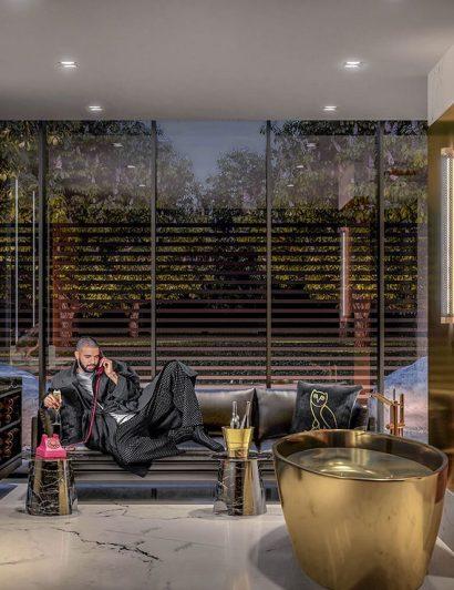 Inside Drake's Luxurious Toronto Home