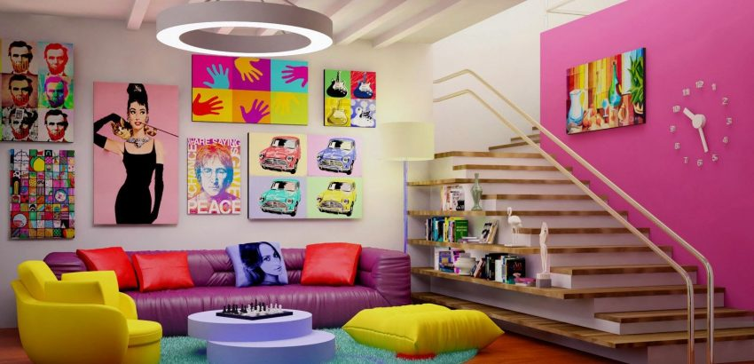 Interior Design Trends: 80's Style interior design trends Interior Design Trends: 80's Style eaffc233a2ac91c3adb839700c3e9328 850x410