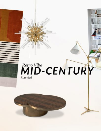Interior Design Trends: Mid-Century Rounded interior design trends Interior Design Trends: Mid-Century Rounded moodboards trends covet house retro vibe mid century 410x532