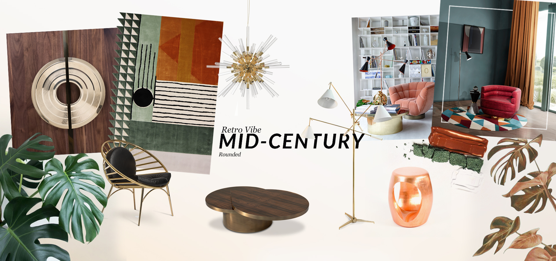 Interior Design Trends: Mid-Century Rounded maison et objet 2017 What to Expect From LUXXU at Maison et Objet 2017 moodboards trends covet house retro vibe mid century maison et objet 2017 What to Expect From LUXXU at Maison et Objet 2017 moodboards trends covet house retro vibe mid century
