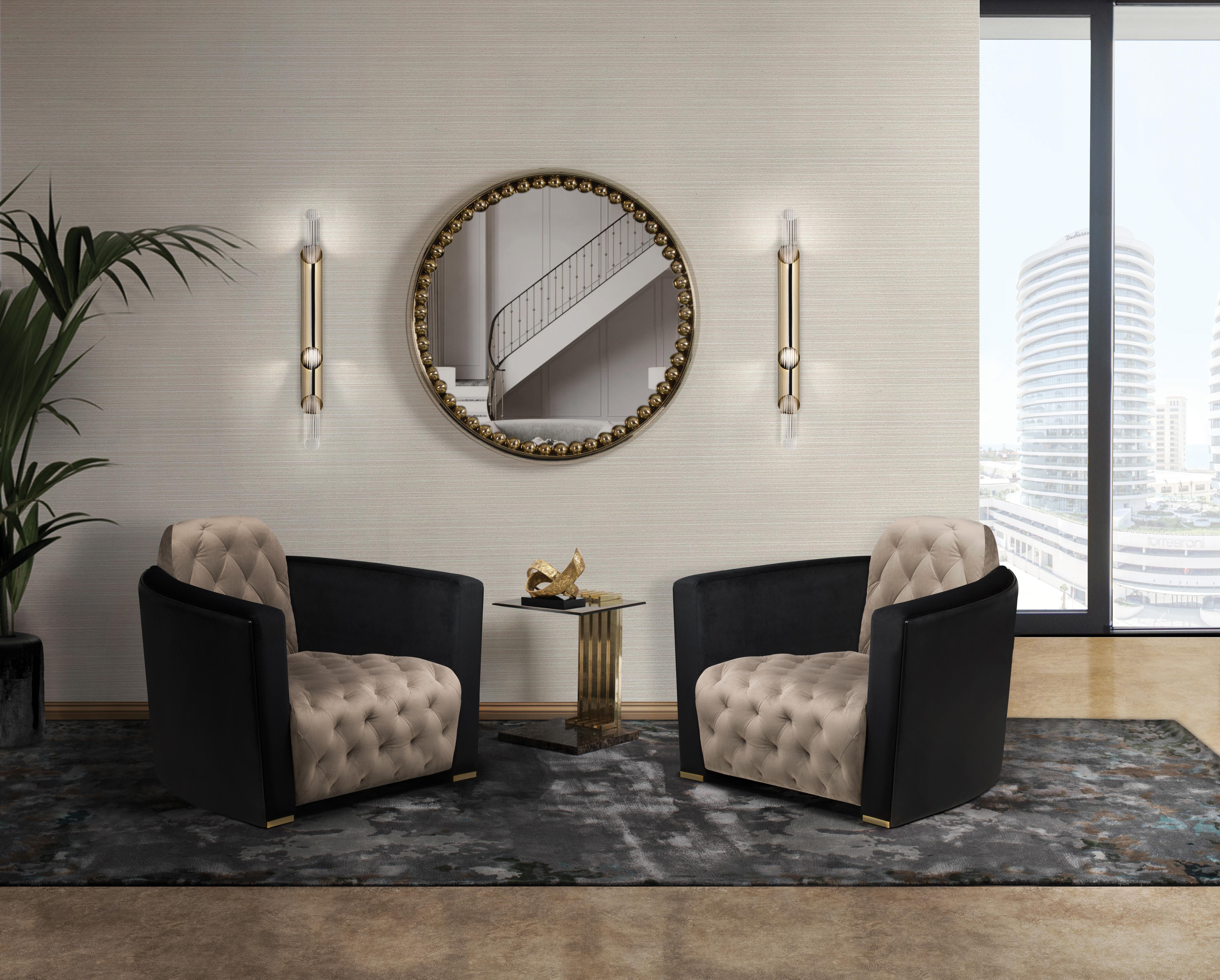 Living Room Trends: Modern Classic living room trends Living Room Trends: Modern Classic navis single sofa cover 05