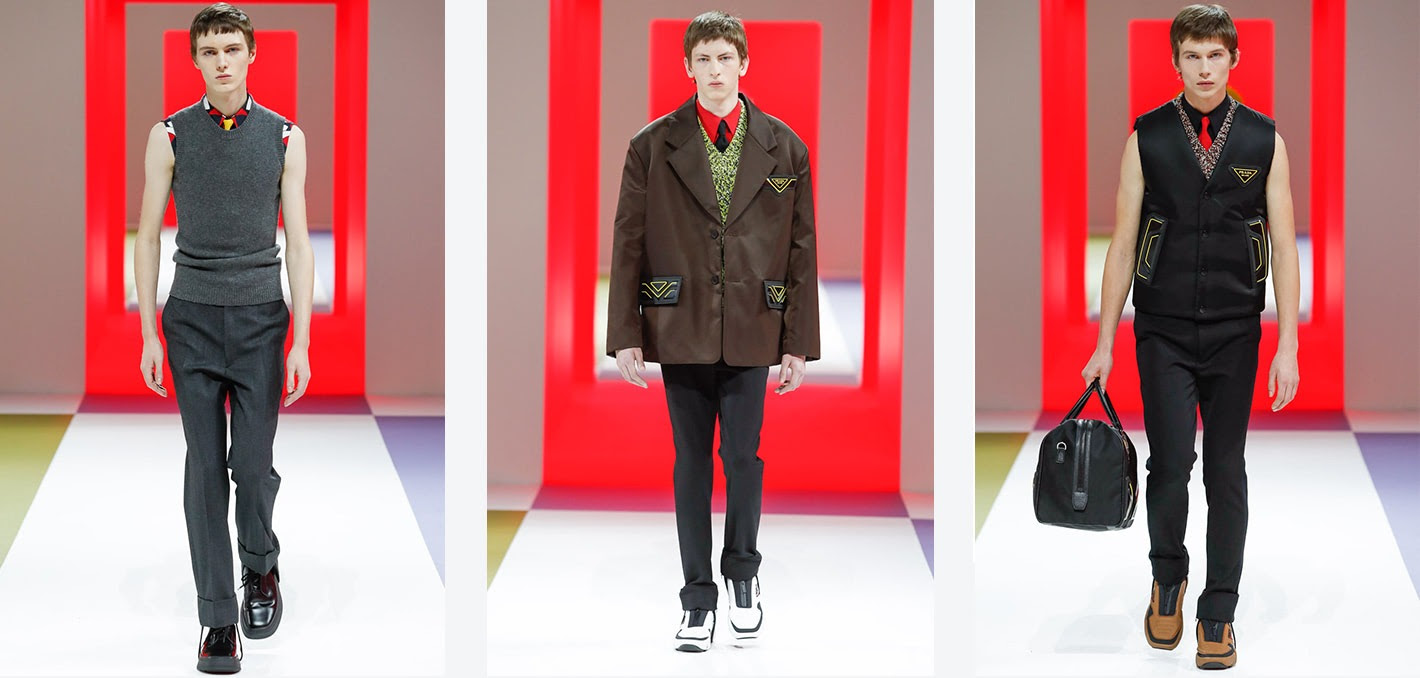 A Look at the Prada Fall 2020 Menswear Collection