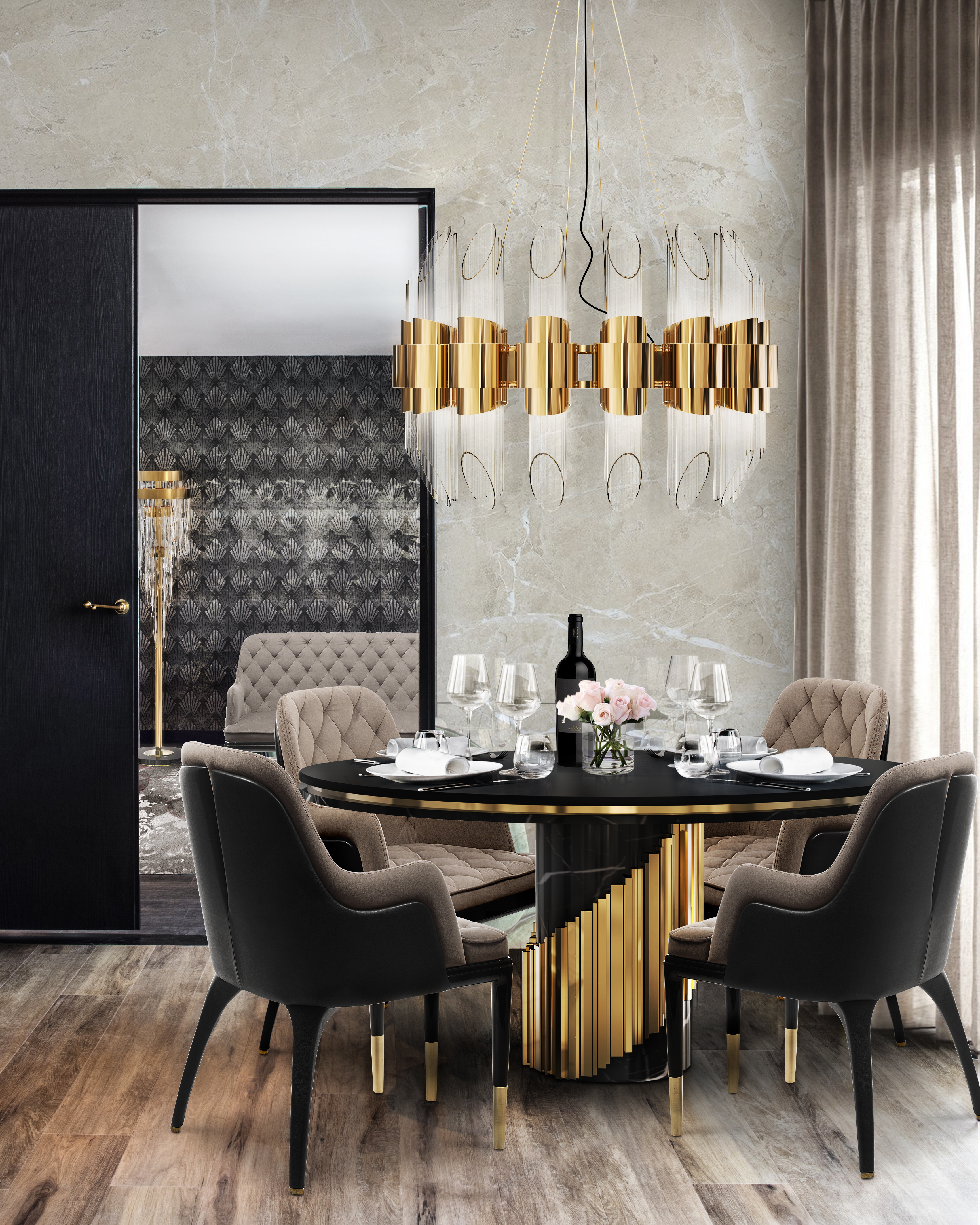 Dining Room Trends: Naturalite dining room trends Dining Room Trends: Naturalite tycho round suspension cover 01