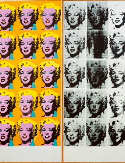 Discover Andy Warhol's Work Through This Virtual Tour andy warhol Discover Andy Warhol's Work Through This Virtual Tour 1 Andy Warhol Marilyn Diptych 410x532