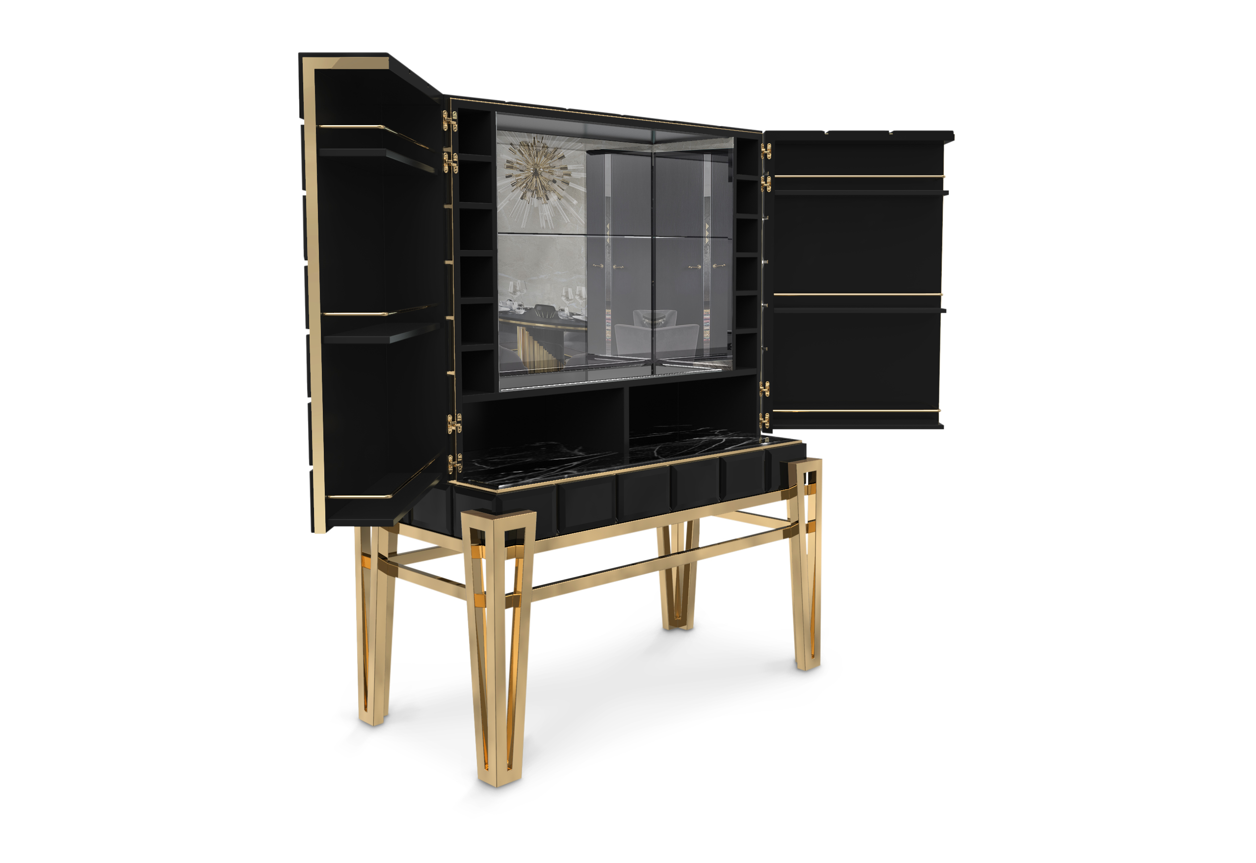Luxury Design: Fall in Love with The Nubian Cabinet luxury design Luxury Design: Fall in Love with The Nubian Bar Cabinet NUBIAN Bar Cabinet 45