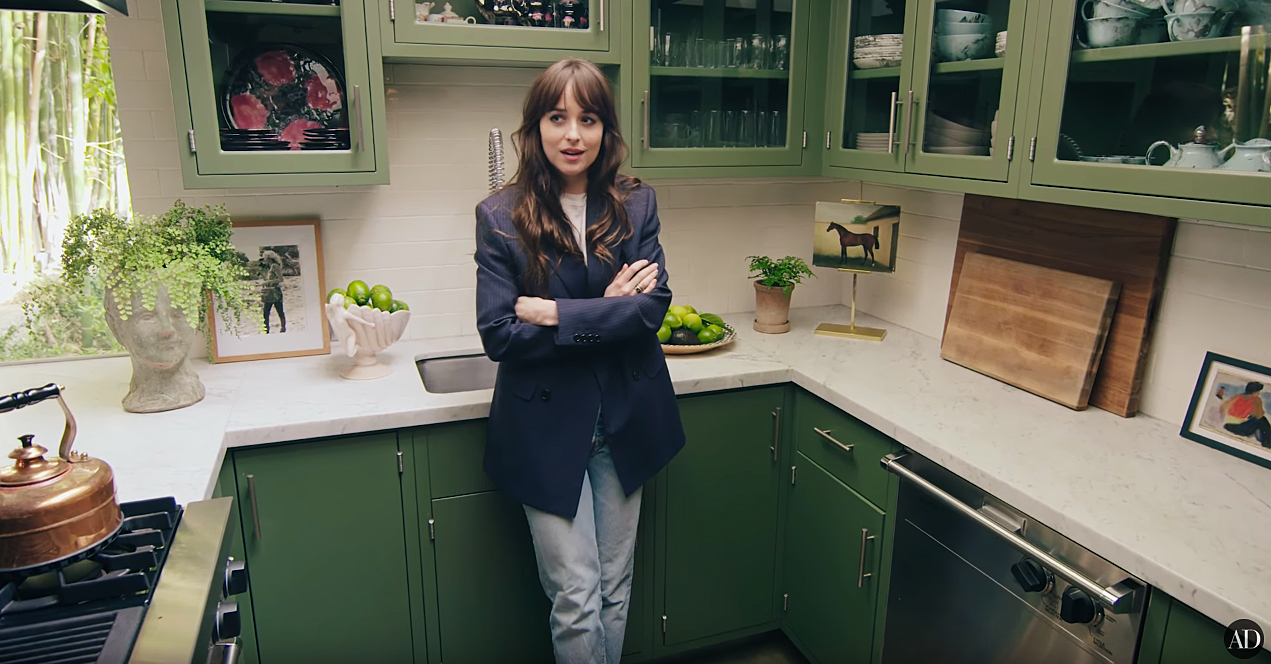 Celebrity Homes: Tour Dakota Johnson's Mid Century House