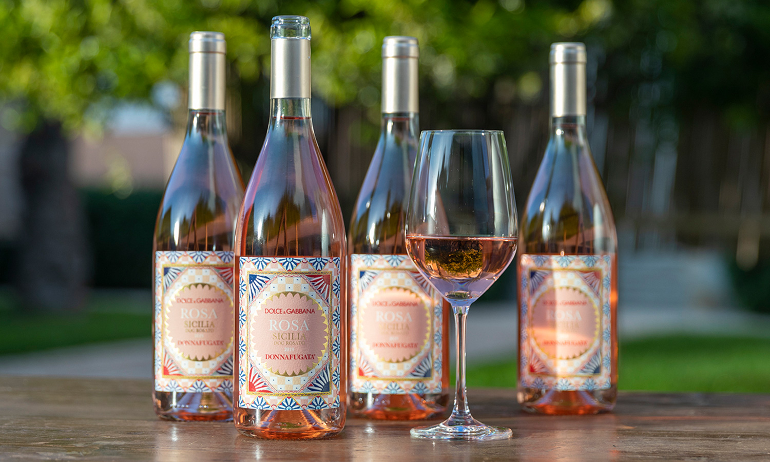 Dolce and Gabbana Release Rosé Wine With Donnafugata