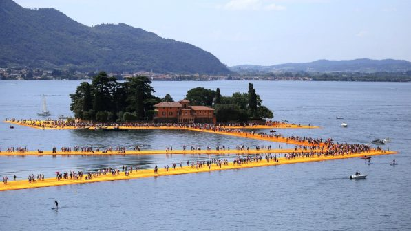 Christo: 5 Stunning Projects to Remember Him By christo Christo: 5 Stunning Projects to Remember Him By 160624120335 christo floating piers 6 597x336